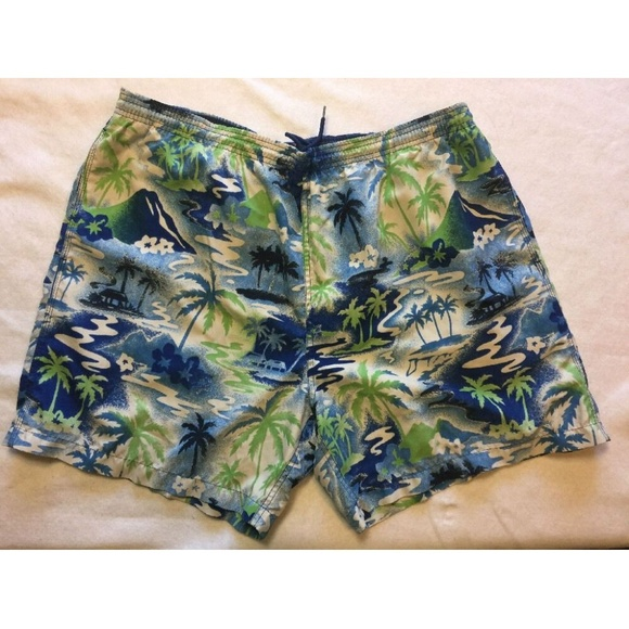 7fe5aeacd637a Nautica Swim | Vintage 90s Xl Trunks Mens Shorts | Poshmark